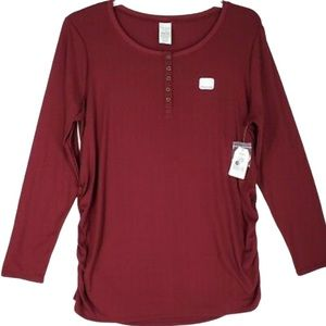 NWT MATERNITY HENLEY TIME AND TRU